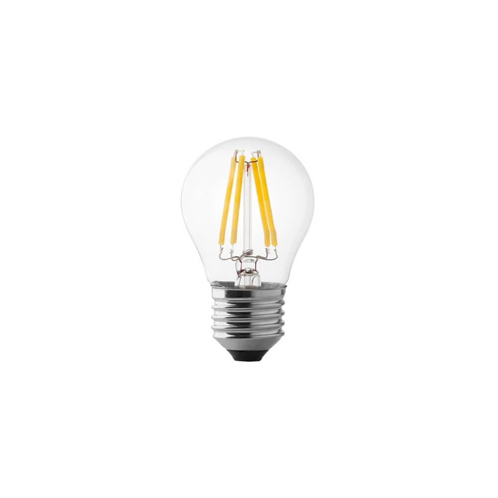 Lampadina led e27 a filamento 4w mini bulbo for Lampadina e27