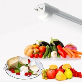 Tubo LED T8 per banchi Caseari, Frutta e Verdura 120cm 20W
