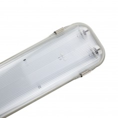 Plafoniera Stagna IP65 60cm Doppio tubo