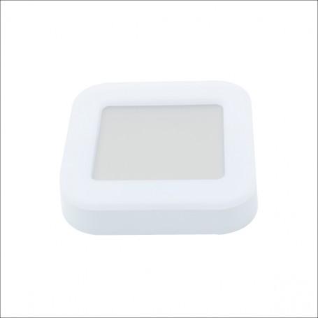 Plafoniera LED da Esterno 15W B. Naturale, IP65 Resistente all'Acqua Dimensioni 19x19cm