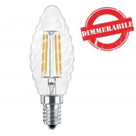 Lampadina LED a Filamento 4W E14 Dimmerabile