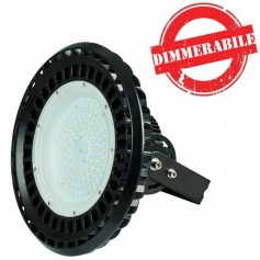 Lampada LED industriale 150W mod UFO IP65 dimmerabile 0-10V