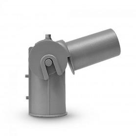 Supporto rotabile per lampade stradali con foro ø50mm