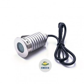 Faretto LED 3W IP67 CREE - Professional