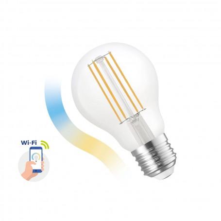 Lampada LED E27 a filamento 5W smart CCT WiFi - Amazon Alexa e Google Home