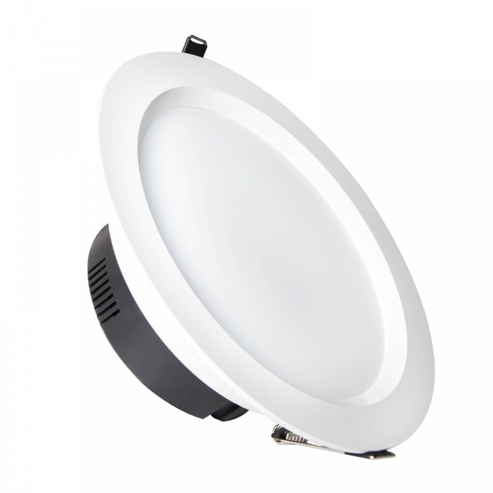 Faretti Da Incasso Per Interni A Led.Faretto Led Da Incasso 15w Foro O134 160mm
